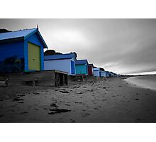 Houses On The Shore Photographic Print