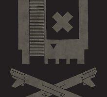 Nes Skull by Hector Mansilla