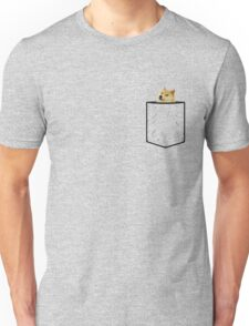 Doge Pocket Unisex T-Shirt