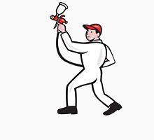 Painter Spray Paint Gun Side Cartoon Unisex T-Shirt
