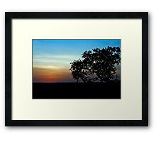 Sunrise Masai Mara Framed Print