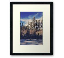 Bundle Up Framed Print
