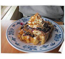 Waffle Hut waffles Poster