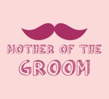 Mother of the groom in mustache wedding by jazzydevil