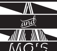 Boats and Mo's Sticker