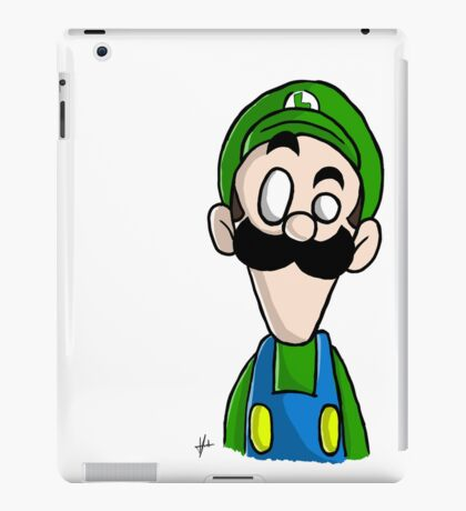 Luigi dO_op iPad Case/Skin