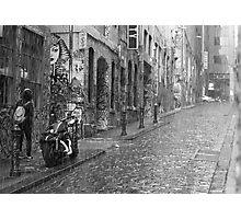 City Sadness Photographic Print