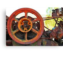 More rusty cogs Canvas Print
