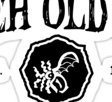 Property of R'lyeh Old Ones Water Polo Sticker