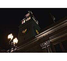 Ferry Building, San Francisco Embarcadero Photographic Print