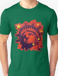 Red Liberty (cut out) T-Shirt