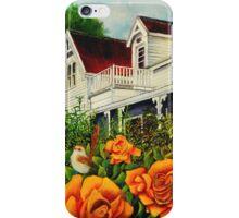 The rose gardens. Franklin Tasmania iPhone Case/Skin