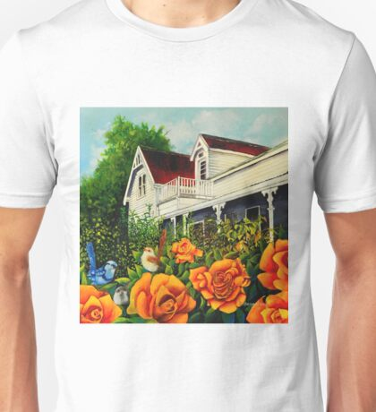 The rose gardens. Franklin Tasmania T-Shirt