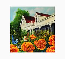 The rose gardens. Franklin Tasmania Unisex T-Shirt