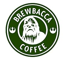 Brewbacca Coffee Photographic Print