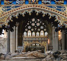 Tomb of Bishop Brownescombe by Irene  Burdell