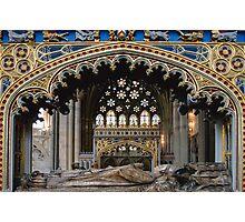 Tomb of Bishop Brownescombe Photographic Print