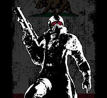 NEW CALIFORNIA REPUBLIC SHIRT - FALLOUT by Danny  Porter