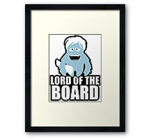 the lord of the boards Framed Print