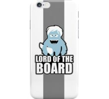 the lord of the boards iPhone Case/Skin
