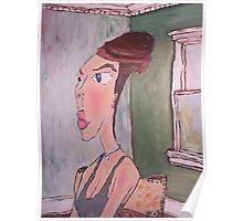 Portrait of Artists Mother As Audrey Hepburn Poster