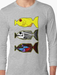 The Hitchhikers Guide to the Galaxy - 3 Babel Fish Long Sleeve T-Shirt