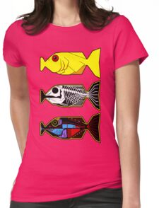 The Hitchhikers Guide to the Galaxy - 3 Babel Fish Womens Fitted T-Shirt
