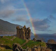 Loch Ness Rainbow by Andrew Dickman