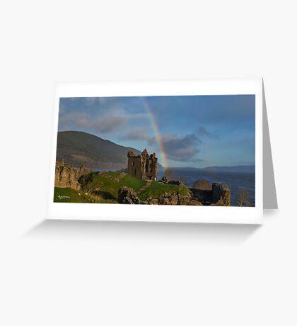 Loch Ness Rainbow Greeting Card