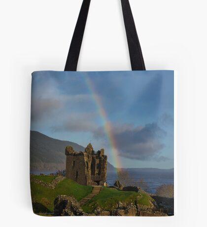 Loch Ness Rainbow Tote Bag