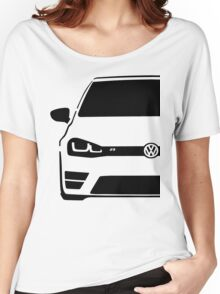 VW MK7 R Black Women's Relaxed Fit T-Shirt