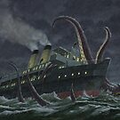 Attack Of Giant Squid by martyee