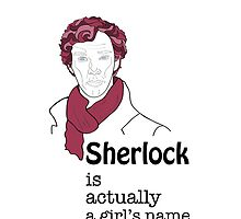 Sherlock is actually a girl's name by alithe