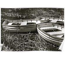 Richmond Boats, Tasmania Poster