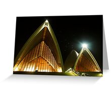 Night at the Opera, Sydney Greeting Card