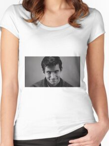 Norman Bates, Psycho Women's Fitted Scoop T-Shirt