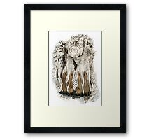 Hares Framed Print
