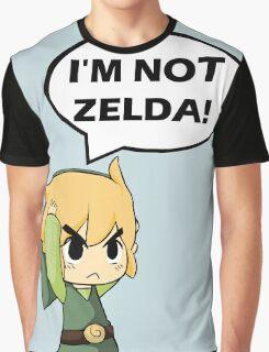 I'm Not Zelda Graphic T-Shirt
