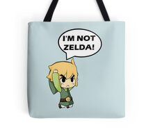 I'm Not Zelda Tote Bag