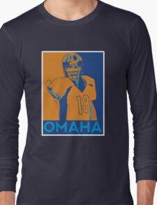 Peyton manning Omaha Hope Poster Long Sleeve T-Shirt
