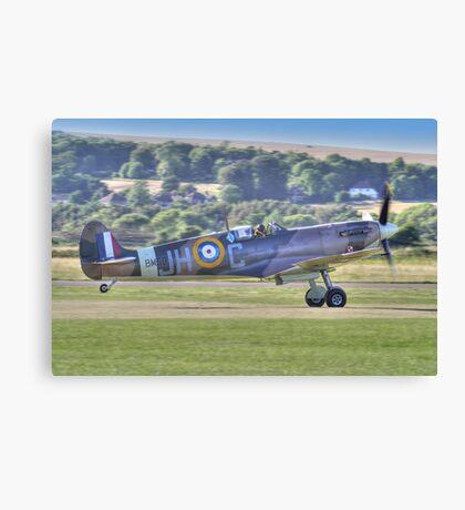 Spitfire VB Scramble - Shoreham Airshow 2013 Canvas Print