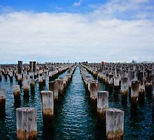Princes Pier Port Melbourne Vic by D-GaP