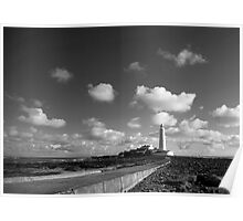 Light House Whitley Bay Northumberland Poster