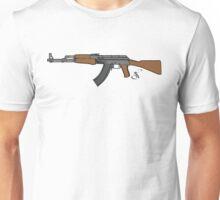 Ak 47 Coloured Unisex T-Shirt