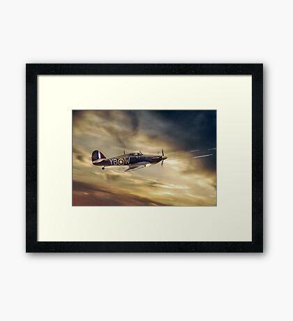 Hurricane Fury Framed Print
