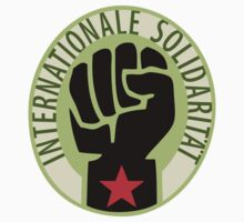 Socialist Solidarity Raised Fist Stickers by NeoFaction
