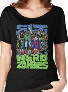 NERD ZOMBIES Women's Relaxed Fit T-Shirt