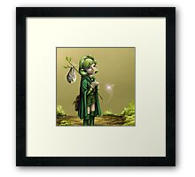 Saria's Search (Ocarina of Time) Framed Print