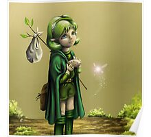 Saria's Search (Ocarina of Time) Poster