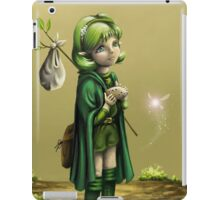 Saria's Search (Ocarina of Time) iPad Case/Skin